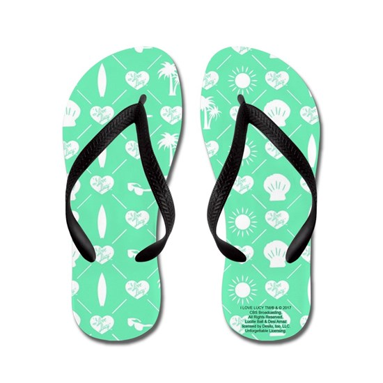 Teal Flip Flops-Woman's Large, 9-10