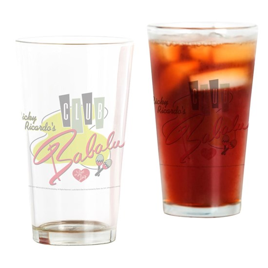 Babalu Drinking Glass 16 ounce