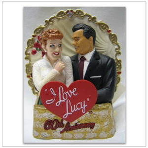 60th Anniversary I Love Lucy Ornament