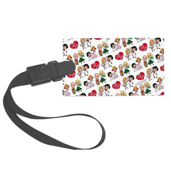 LUGGAGE TAG WITH ALL FOUR CHARACTERS