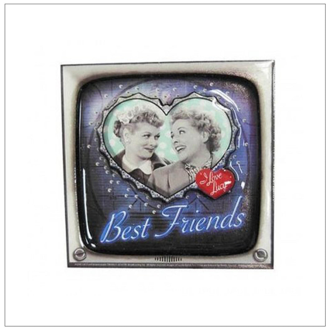 Best Friends Laser Cut 3D Magnet