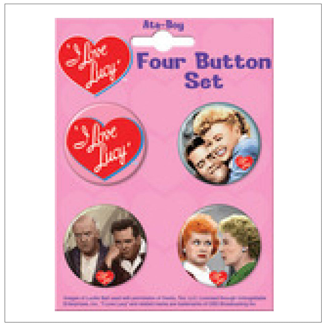 Button Set of 4 #1