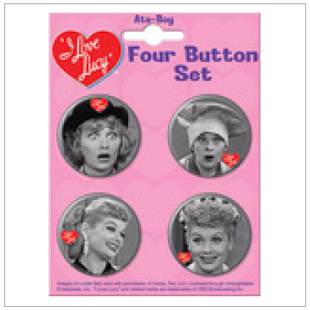Button Set of 4 #2