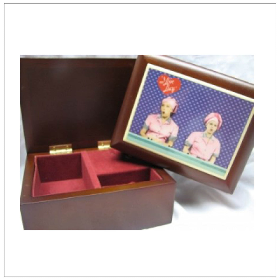 Candy Factory Music Jewelry Box