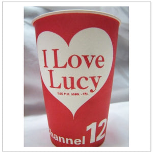 Channel 12 Paper Cup ADVERTISEMENT
