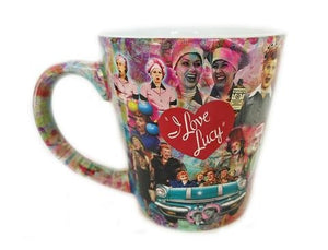 Latte Collage Mug