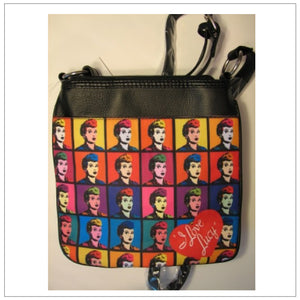 Color Block Messenger Bag