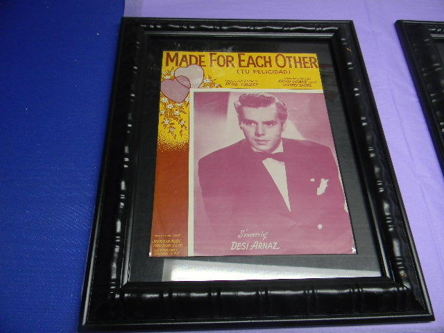 MADE FOR EACH OTHER FRAMED