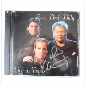 Desi Arnaz Jr Signed CD