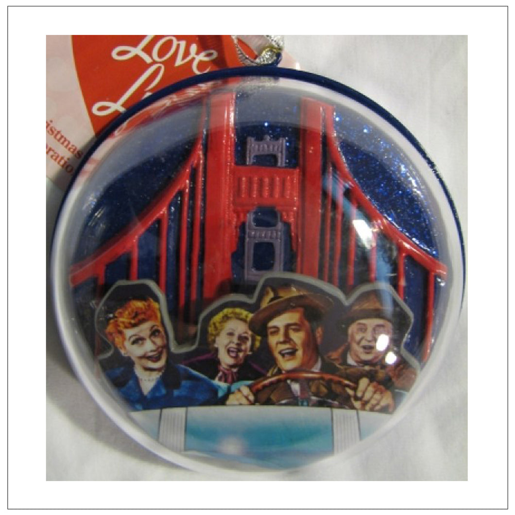 Domed California Ornament