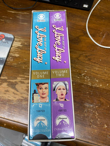 I LOVE LUCY COLLECTION 1 AND 2 VHS