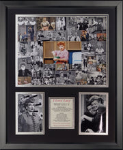 Load image into Gallery viewer, Mosaic collage of Lucy 16 x 20 framed art