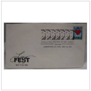 First Day Cover Lucyfest