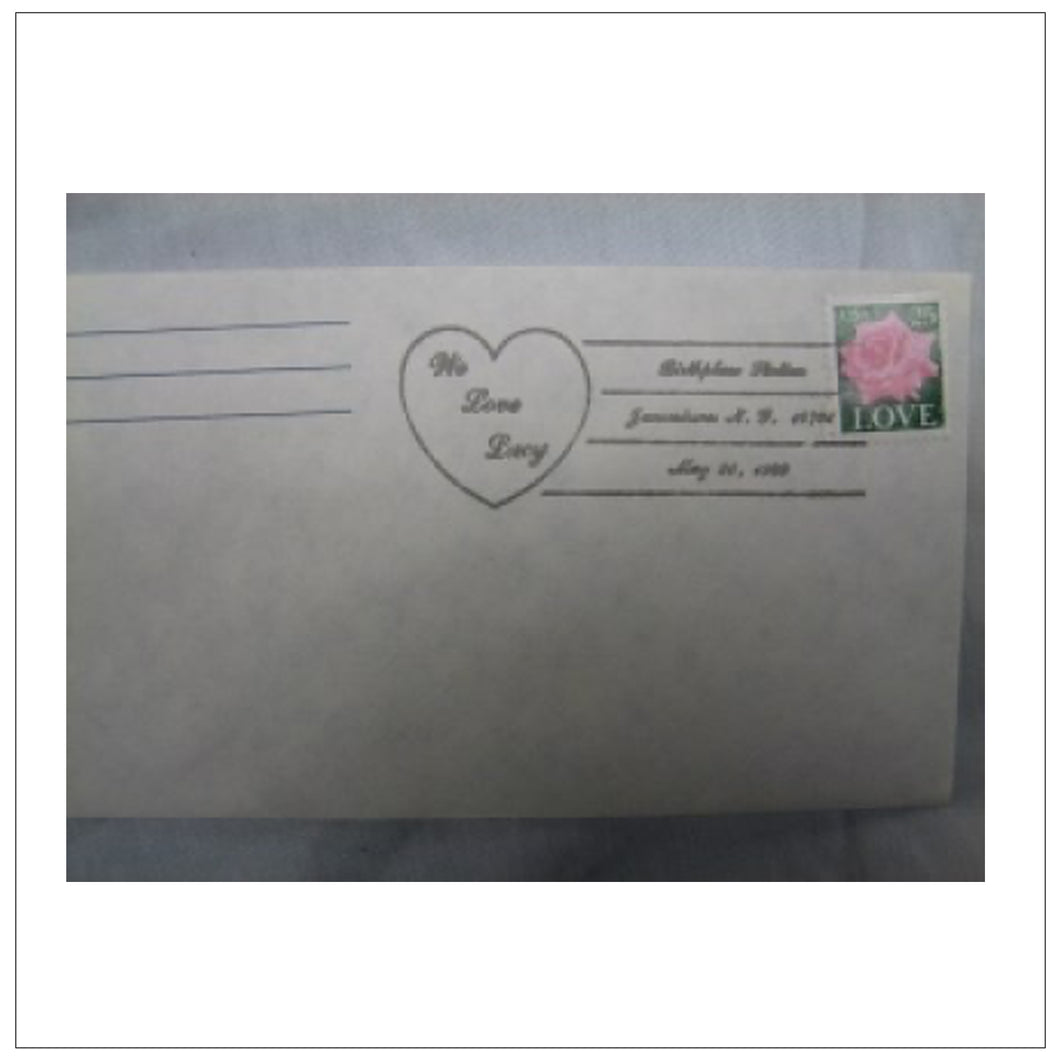 First Day Cover We Love Lucy