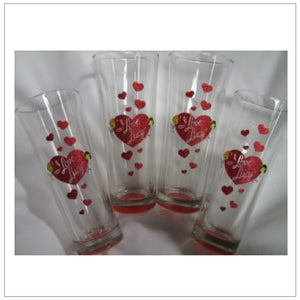 Flared Highball Glasses