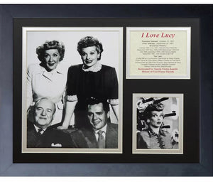 I Love Lucy Foursome Framed Art