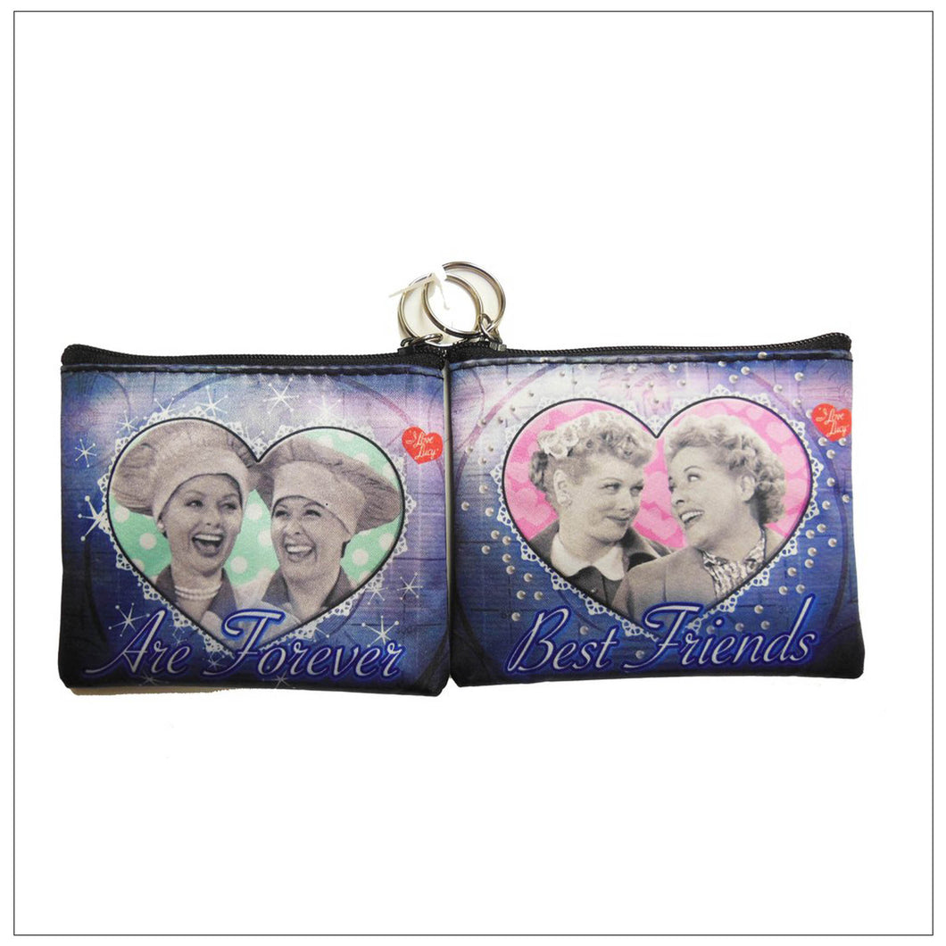 Best Friends Key Chain Coin Purse