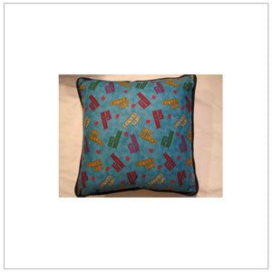 "Green Escapades 18"" Pillow"