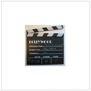Hollywood Wooden Clapboard