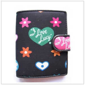 I Love Lucy Fabric Wallet