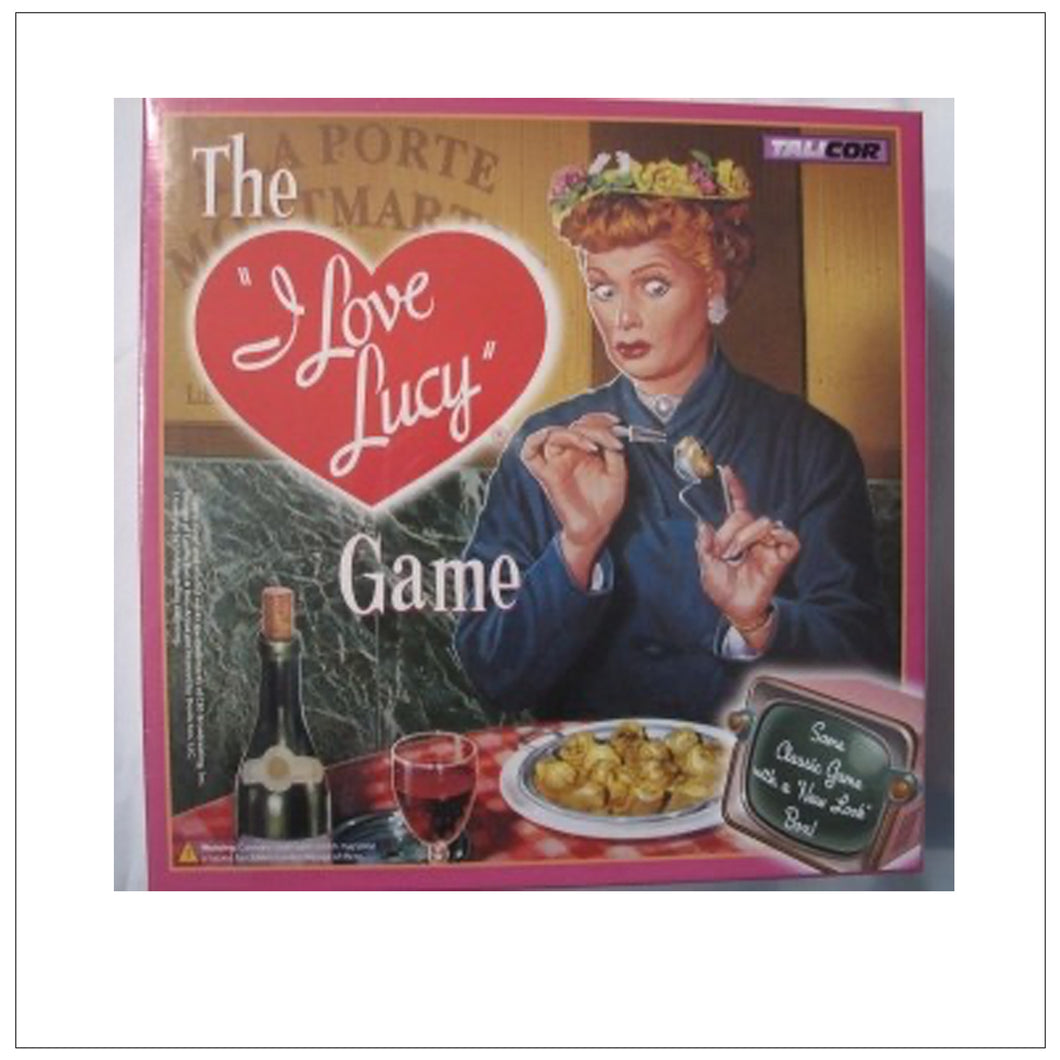 I Love Lucy Game Paris
