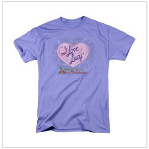 I Love Lucy Logo Christmas T Shirt