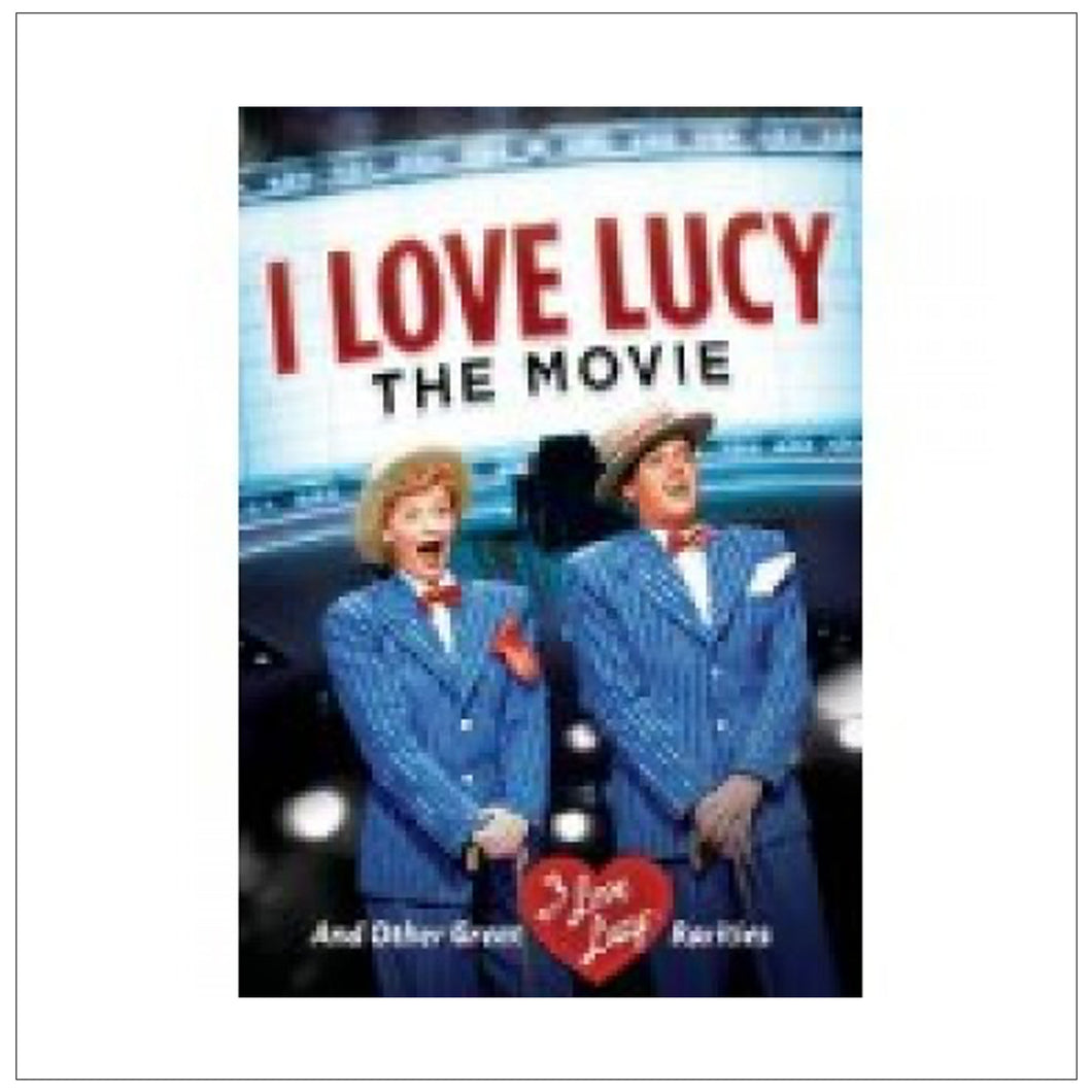 I Love Lucy The Movie DVD