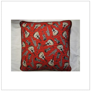 "Instruments 18"" Pillow"
