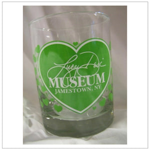 Lucy-Desi Museum Green Rocks Glass