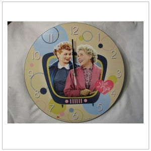 Lucy & Ethel Wall Clock
