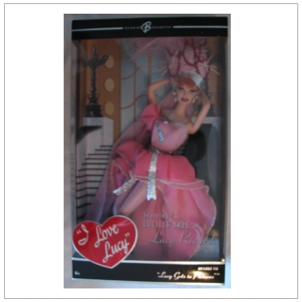 Lucy Gets in Pictures Mattel Doll