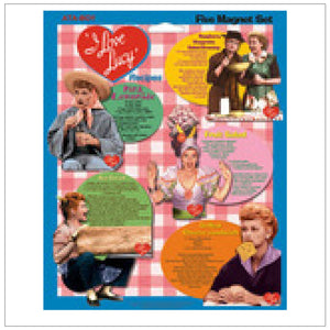 Lucy Recipes Magnet 5 Pack