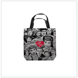 Many Faces Small Tote