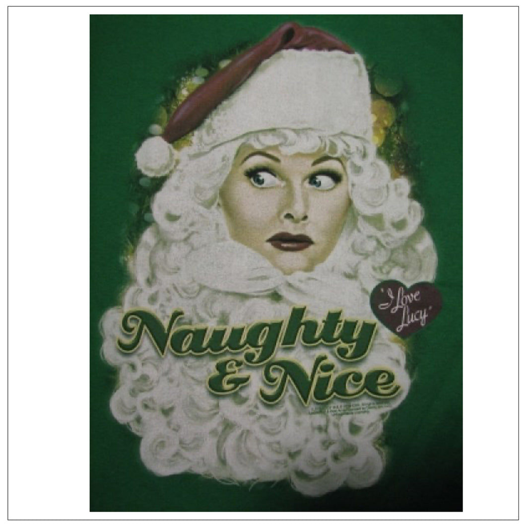 Naughty & Nice Long Sleeve T-Shirt