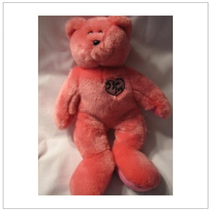 Pink I Love Lucy Bear