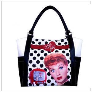 Polka Dot Shopping Tote
