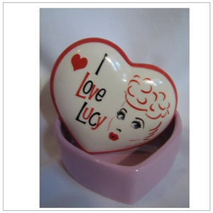 I Love Lucy Trinket Box