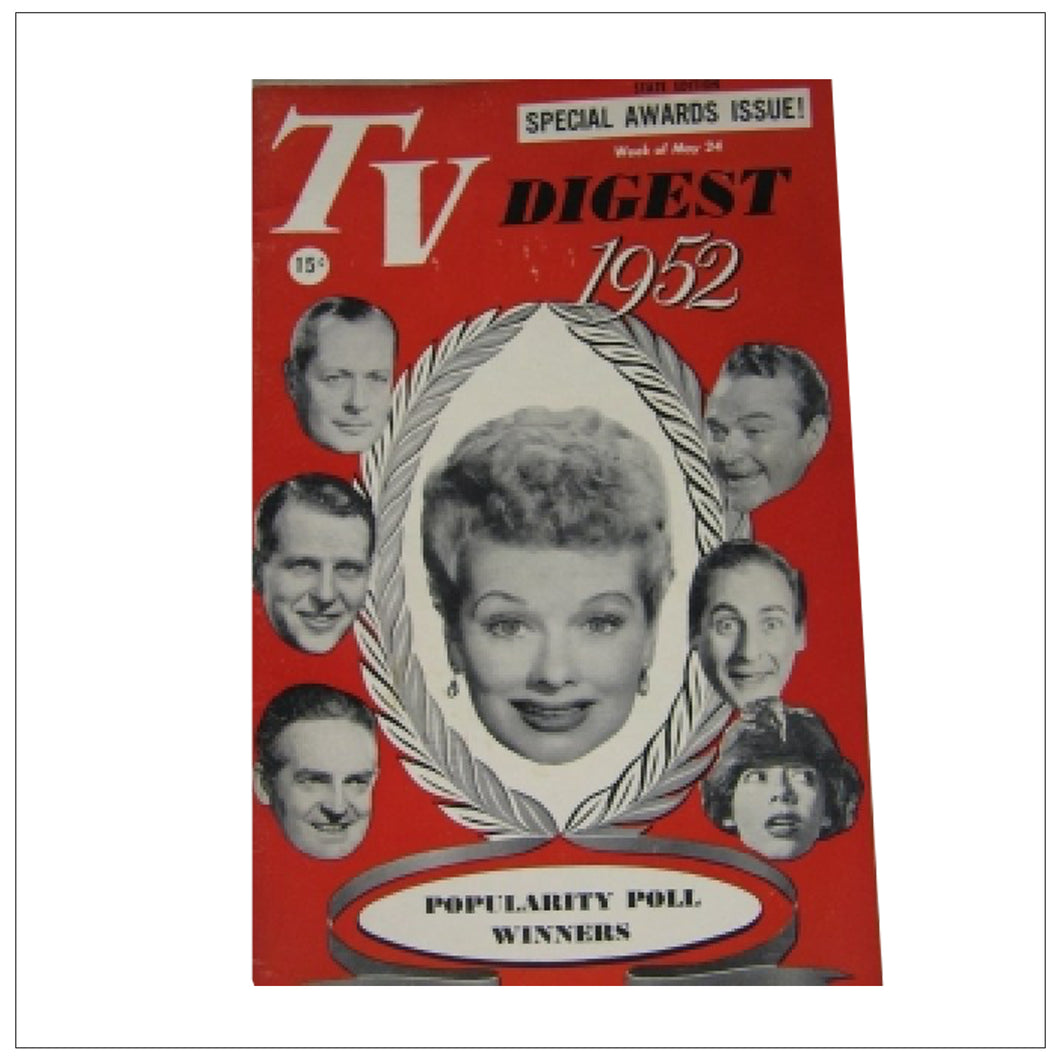 TV Digest Week of May 24 1952