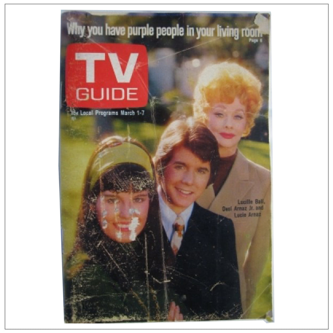 TV Guide Mar 1-7 1969