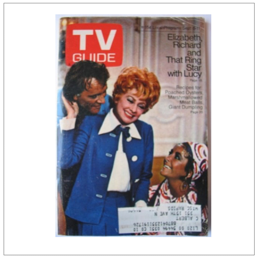 TV Guide Sept 5-11 1970