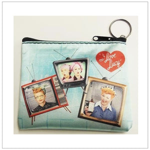 TV Lucy Key Chain Coin Purse