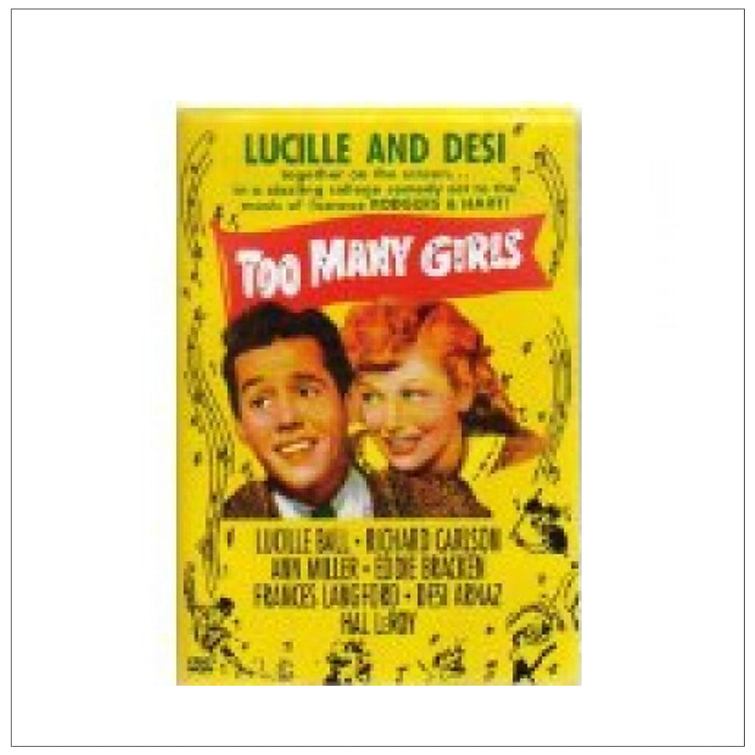 Too Many Girls DVD