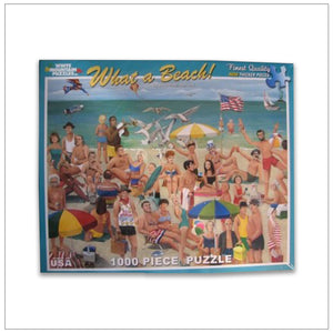 What A Beach Puzzle