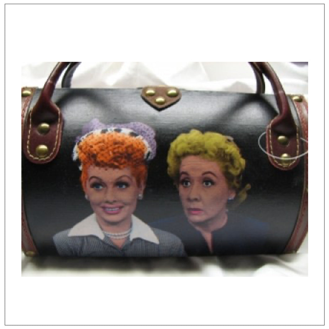 Wooden Lucy & Ethel Purse