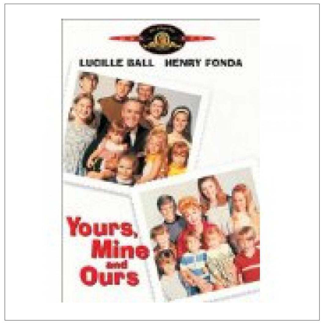 Yours, Mine & Ours DVD