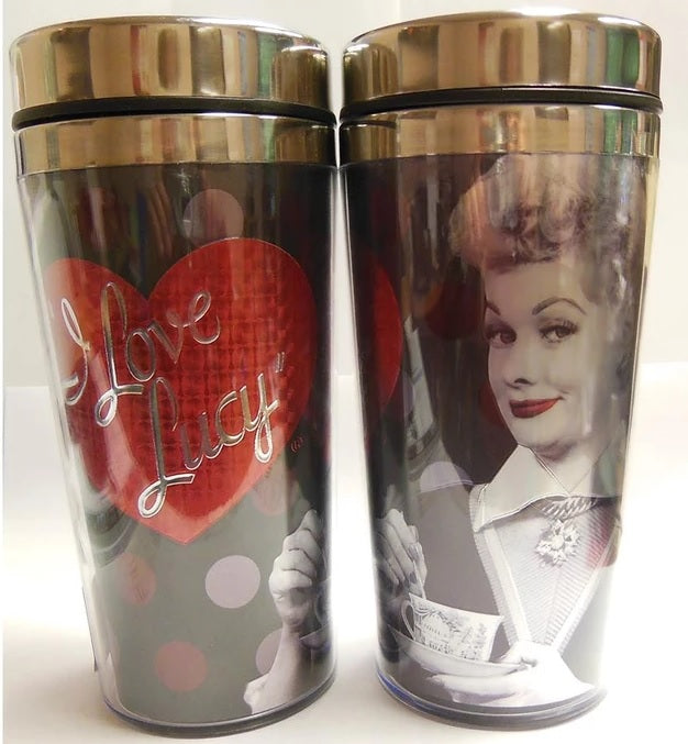 Black and Red Travel Mug