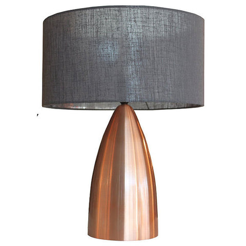 Copper Cone Table Lamp