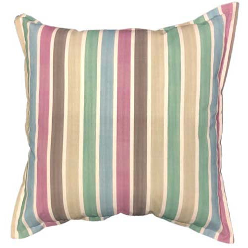 Mauve Stripe Cushion