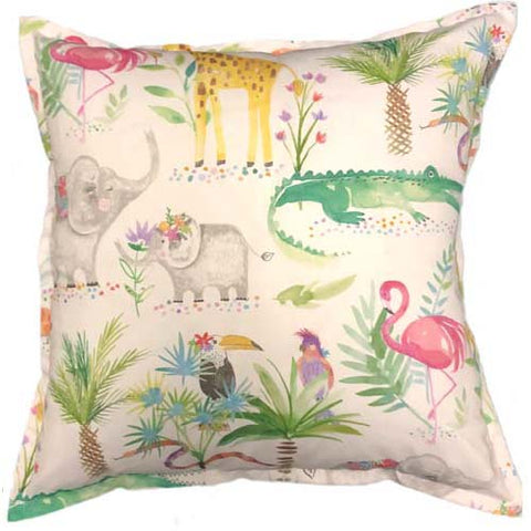Forest Animal Cushion