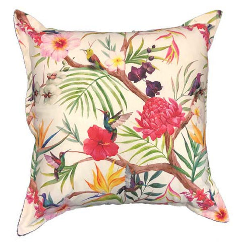 Jade Humming Bird Cushion